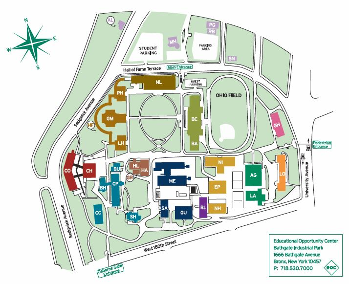 Bcc Campus Map BCC Catalog 2017 2018.indd